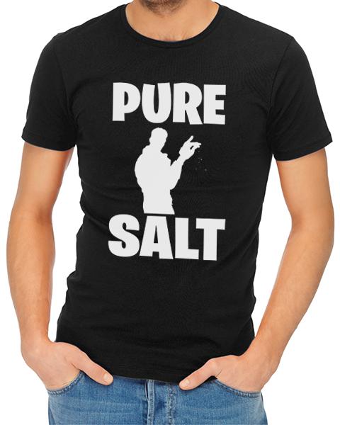 pure salt mens tshirt black