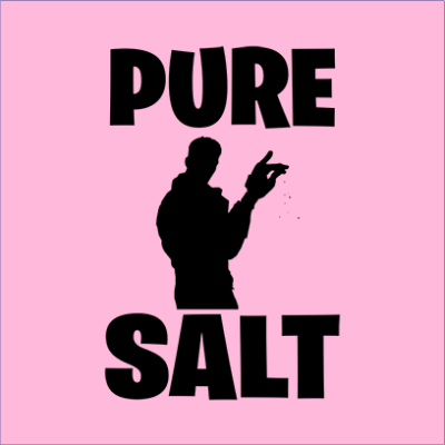pure salt pink square