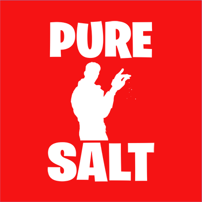 pure salt red square