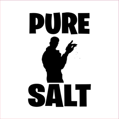 pure salt white square