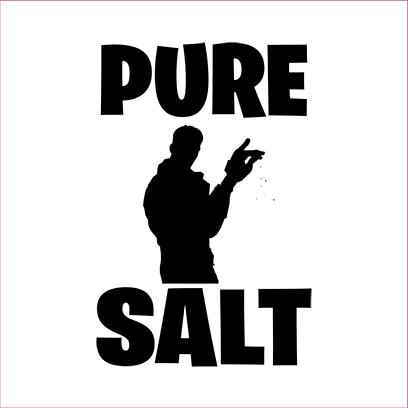pure salt white square