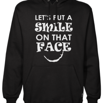 smile on that face Black Hoodie