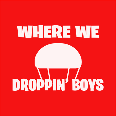 where we droppin red square – Copy