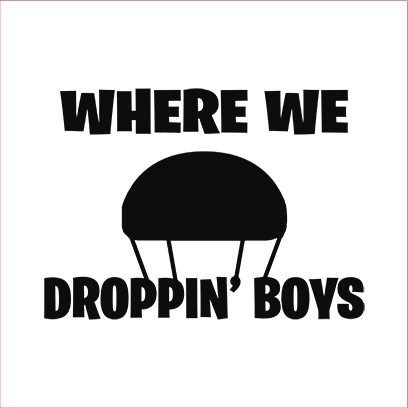 where we droppin white square – Copy