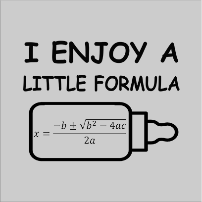 a little formula grey square