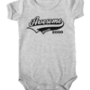 awesome since 2020 baby grey