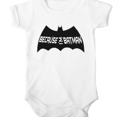 because im batman baby white