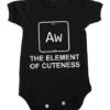 element of cuteness baby black
