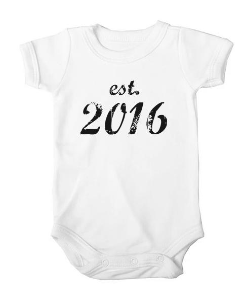 established baby white