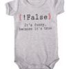 false its funny baby grey