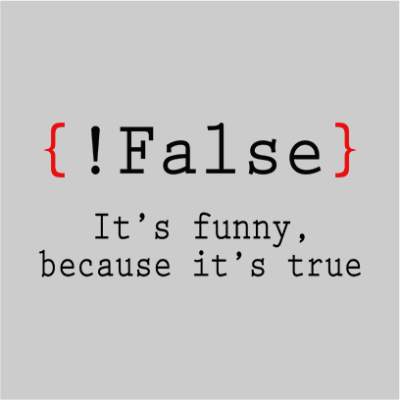 false its funny grey square
