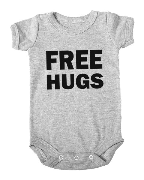 free hugs baby grey