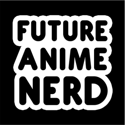 future anime nerd black square