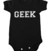geek baby black
