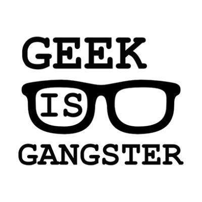 geek is gangster grey square