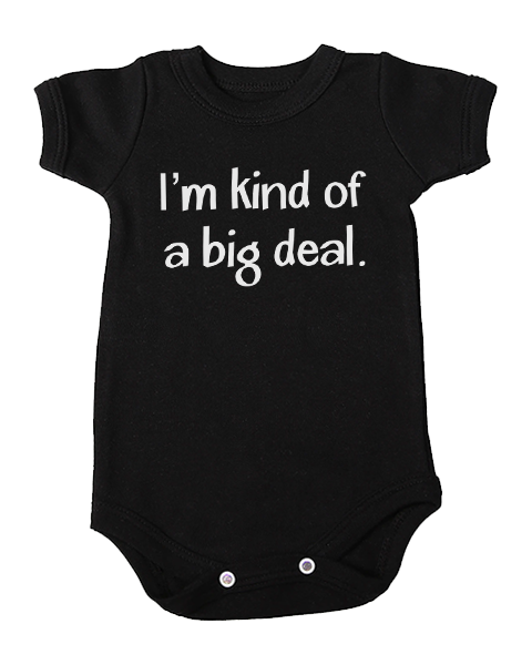 kind of a big deal baby black
