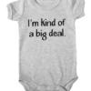 kind of a big deal baby grey