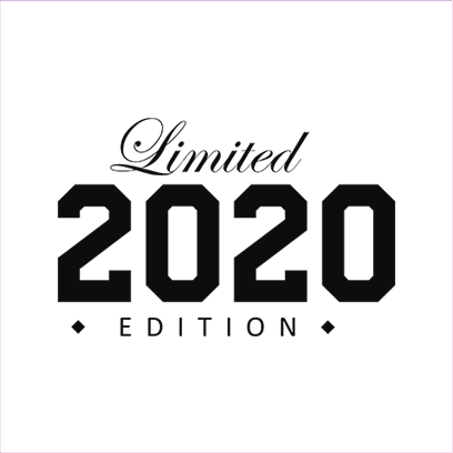 limited edition 2020 white square