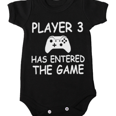 player 3 baby black