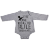 the one ring baby grey long sleeve