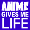 anime life blue square