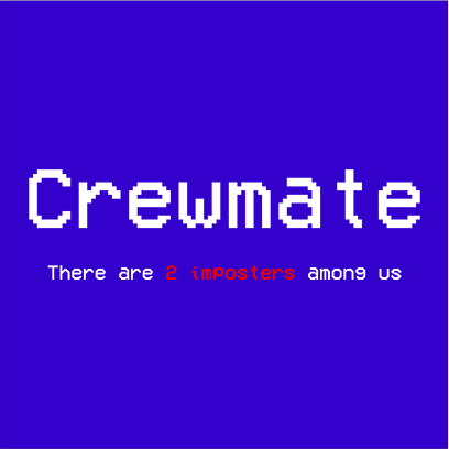 crewmate blue square