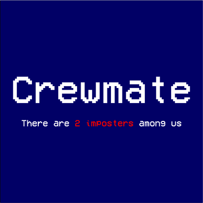 crewmate navy square