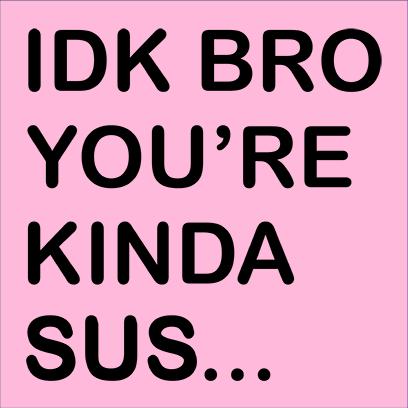 idk bro sus pink square