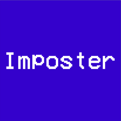 imposter blue square