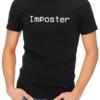 imposter mens tshirt black