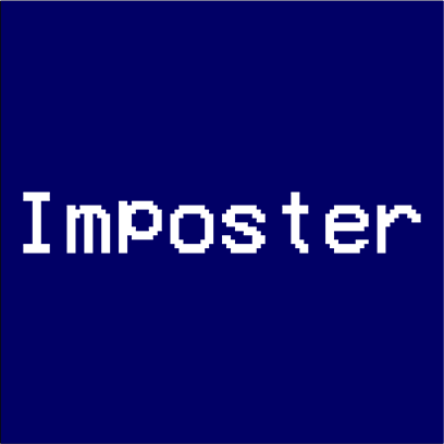 imposter navy square