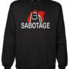 sabotage Black Hoodie jb