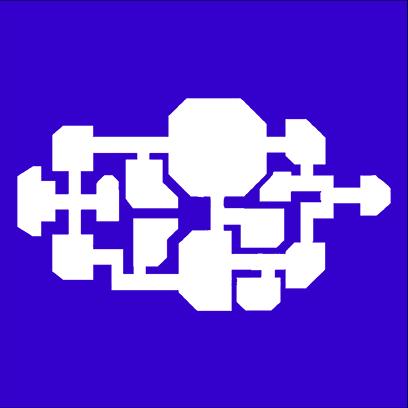 spaceship map blue square