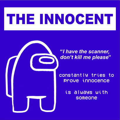 the innocent blue square