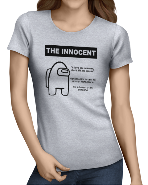 the innocent ladies tshirt grey
