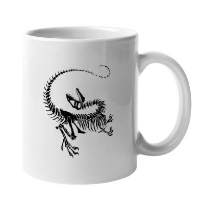Dinosaur Skeleton Mug