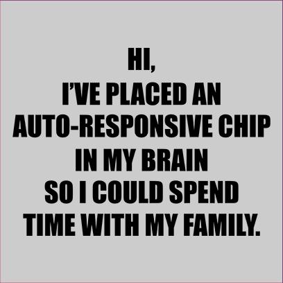 autoresponsive chip grey square