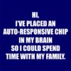 autoresponsive chip navy square