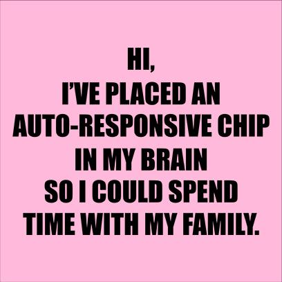 autoresponsive chip pink square