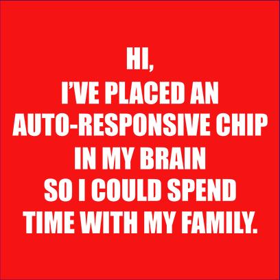 autoresponsive chip red square