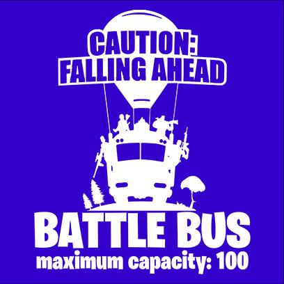 battle bus blue square