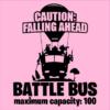 battle bus pink square