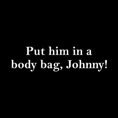 body bag johnny black square