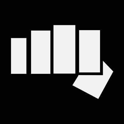 cobra kai fist black square