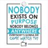 come watch tv white square
