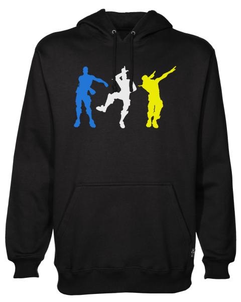 dance silhouettes Black Hoodie jb