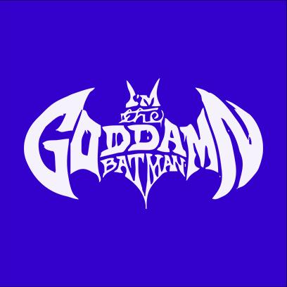 goddamn batman blue square