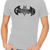 goddamn batman mens tshirt grey