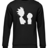 morty and rick black sweater