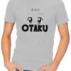 otaku mens tshirt grey